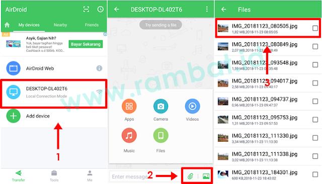 Cara Memindahkan Foto dari HP ke PC/Laptop dengan Aplikasi Transfer file