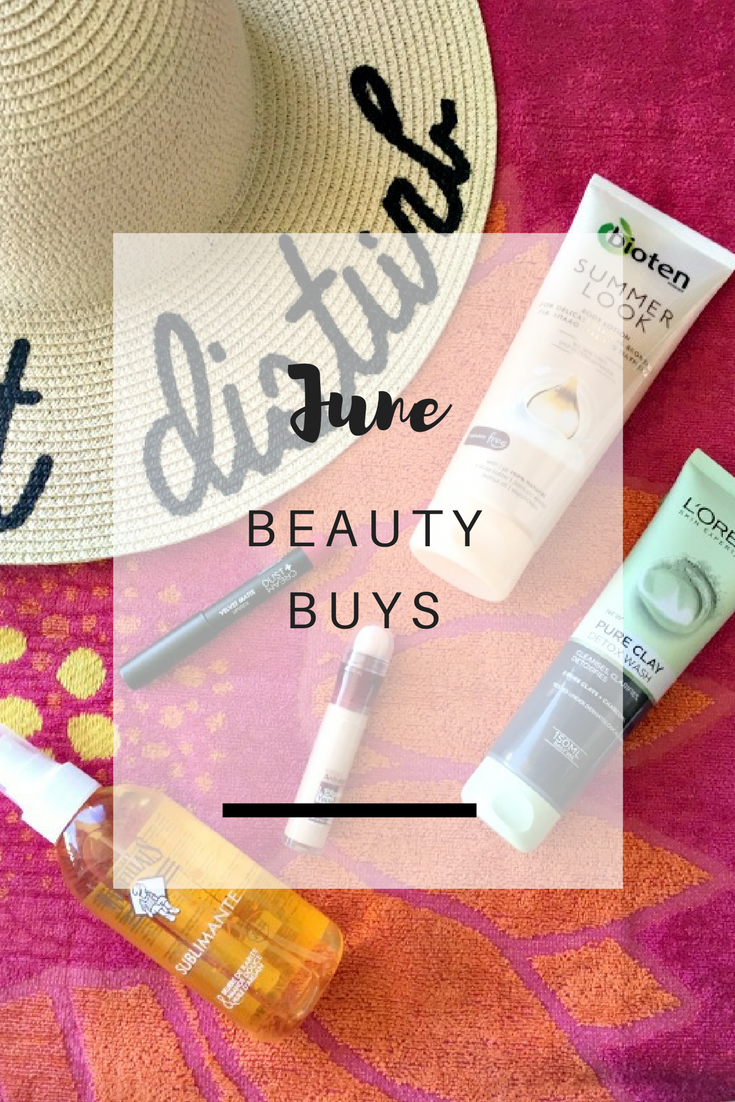 June Beauty Buys - Ioanna's Notebook
