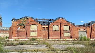 pullman factory entrance
