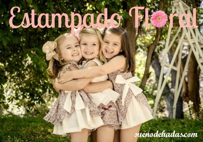 Estampado floral - tendencias moda infantil