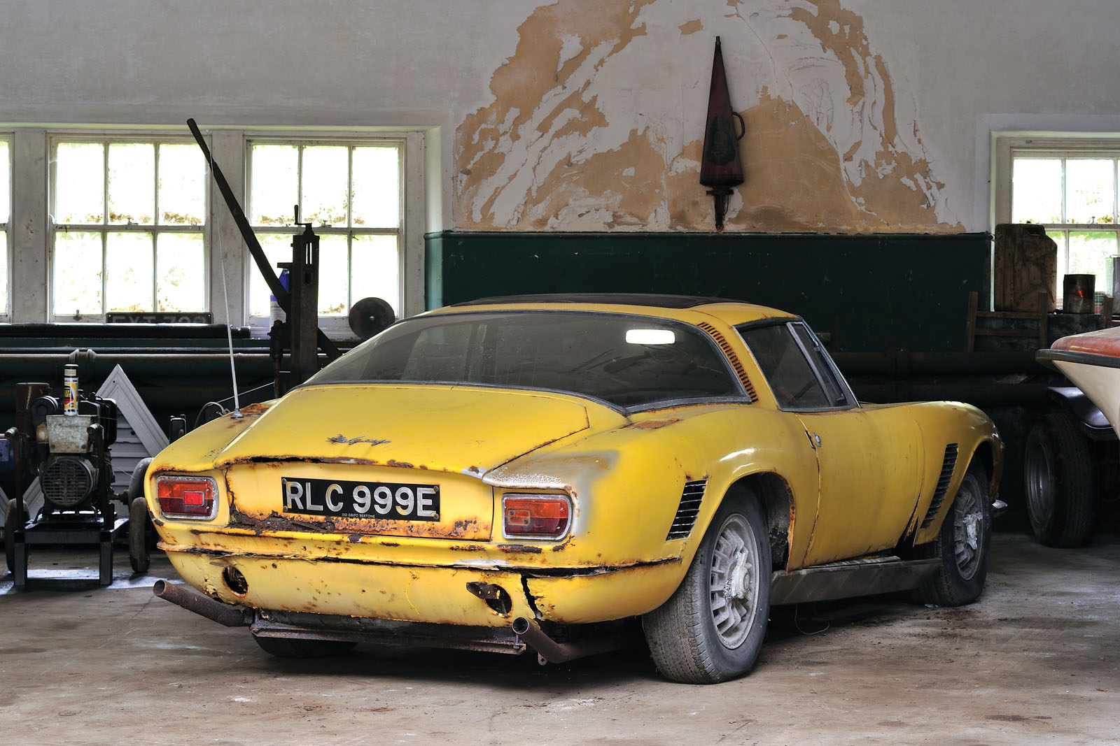 1967 Iso Grifo Gl 2016 Rm Sotheby S London Sale Feature: This Poor Abandoned Iso Grifo Is About To Get A New Home