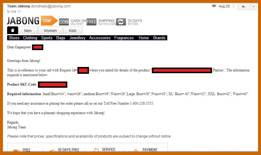 My response also honest reviews and lifestyle tips jabong amusing customer rh reviewsandlifestyle
