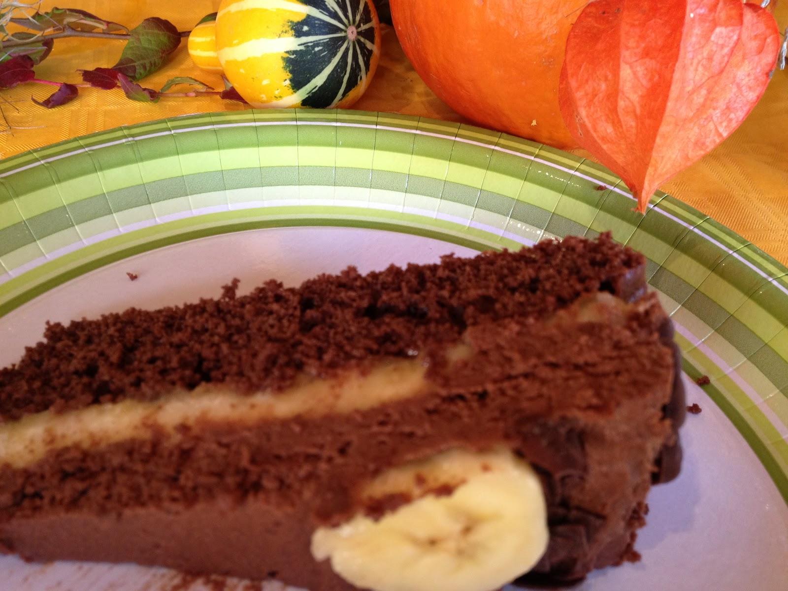 Mein Leben Und Das Backen Schoko Bananen Torte