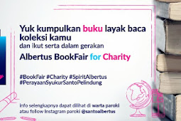 Albertus BookFair For Charity