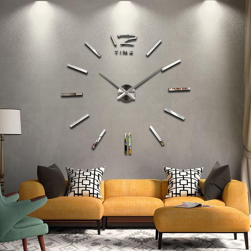 Jam Dinding 3D Giant Wall Clock Besar 74f99b7ca5
