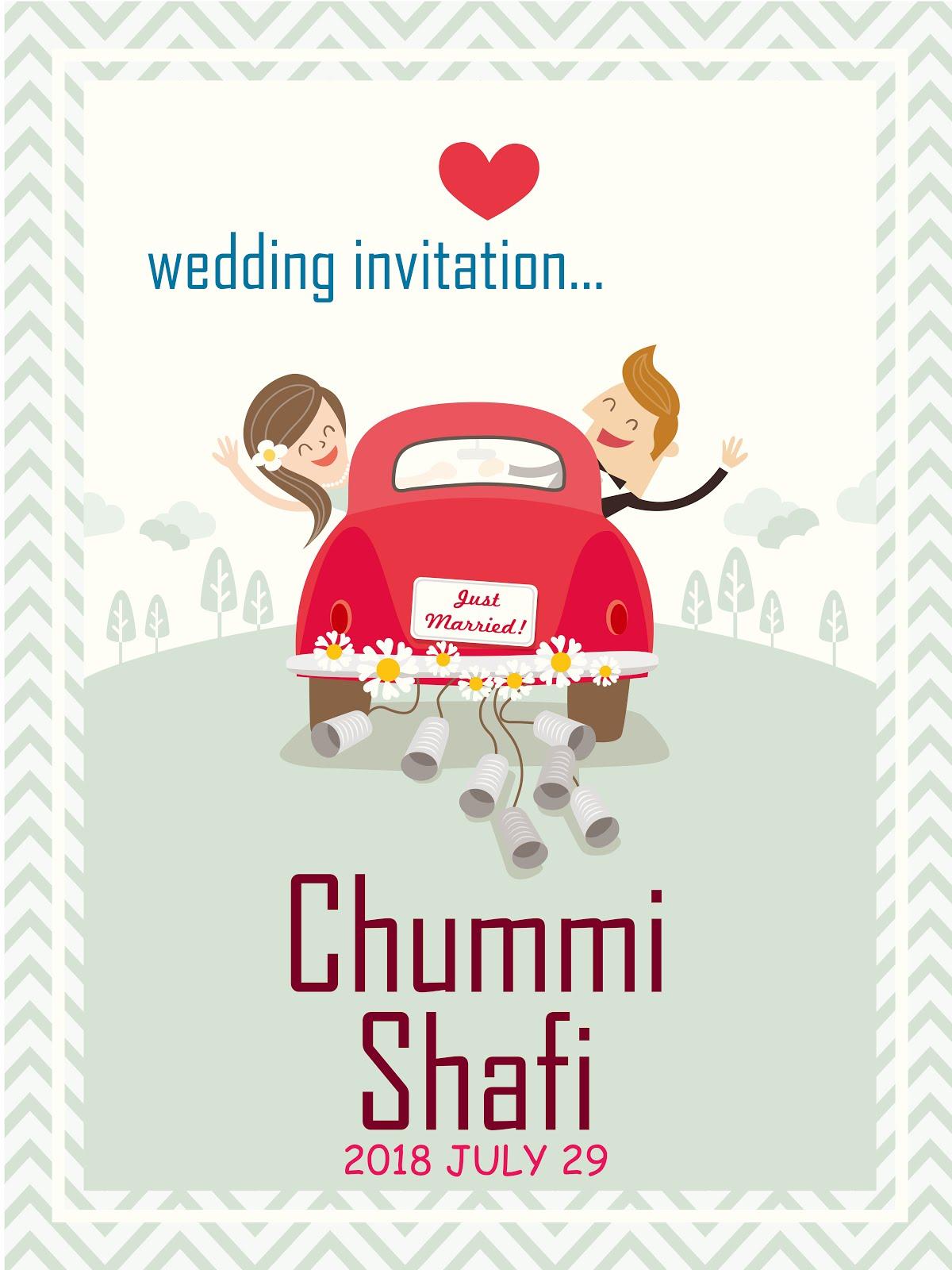WEDDING INVITATION - Asru Design
