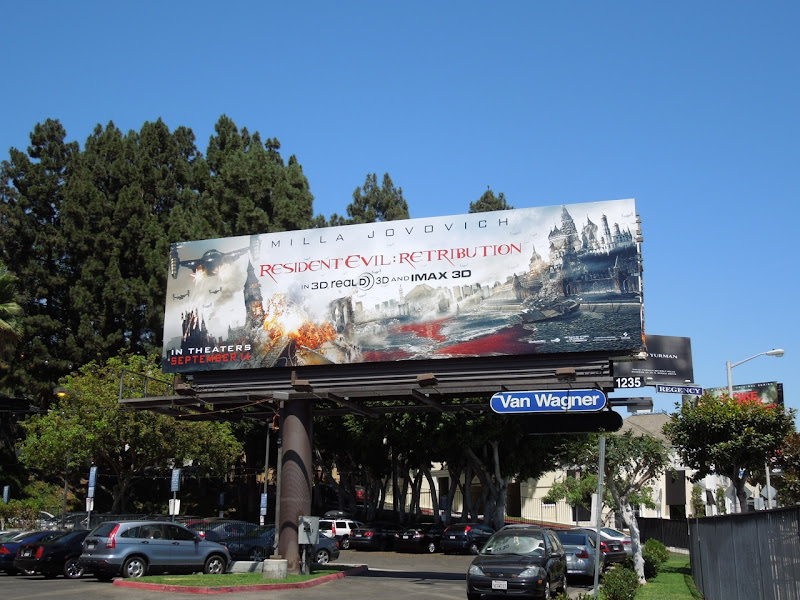 Resident Evil 5 Retribution billboard