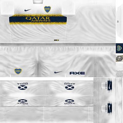 PES 6 Kits Boca Juniors Season 2018/2019 by FacaA/Ngel