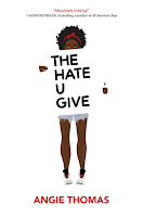 The Hate U Give by Angie Thomas book cover and review