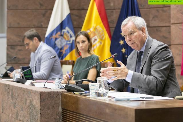 La Consejería de Obras Públicas ejecuta las expropiaciones que permitirán afrontar la última fase de las obras de la carretera LP-2 entre San Simón y Tajuya