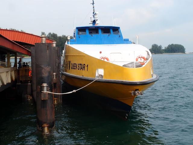 Ferry to Bintan