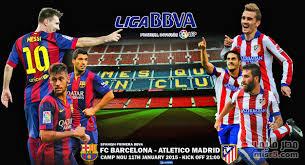 موعد مباراة برشلونة وأتلتيكو مدريد في الدوري الإسباني 26-2-2017