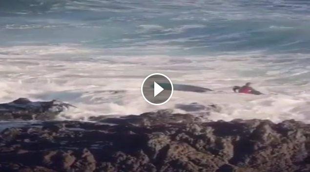 como no salir del agua surf