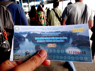 Halong Bay vietnam ticket price