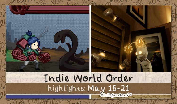 Indie World Order ♥ May Week 3