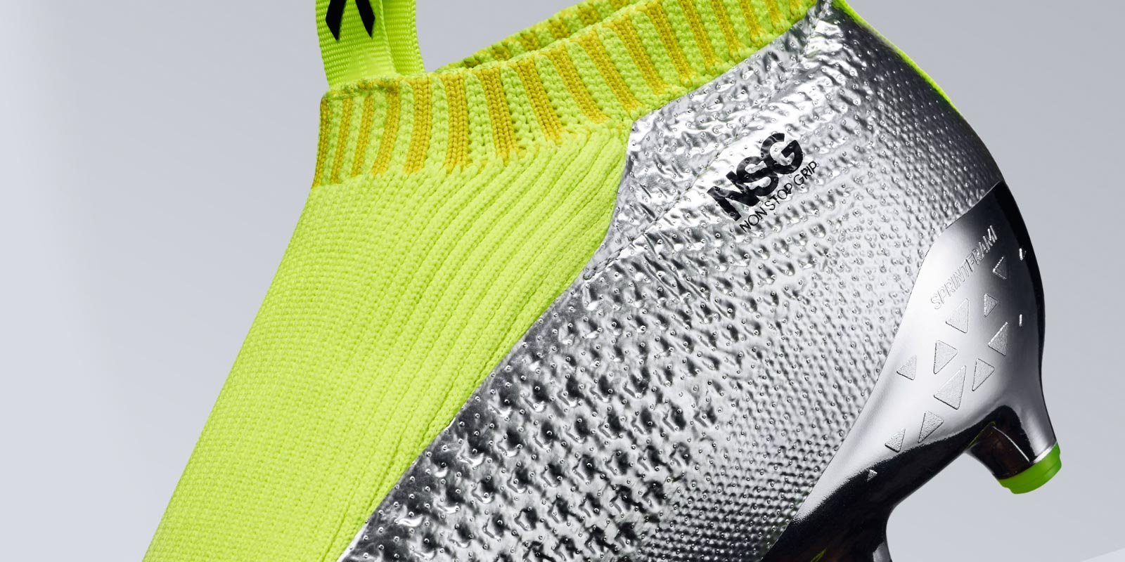Adidas Ace 16 Purecontrol Silber