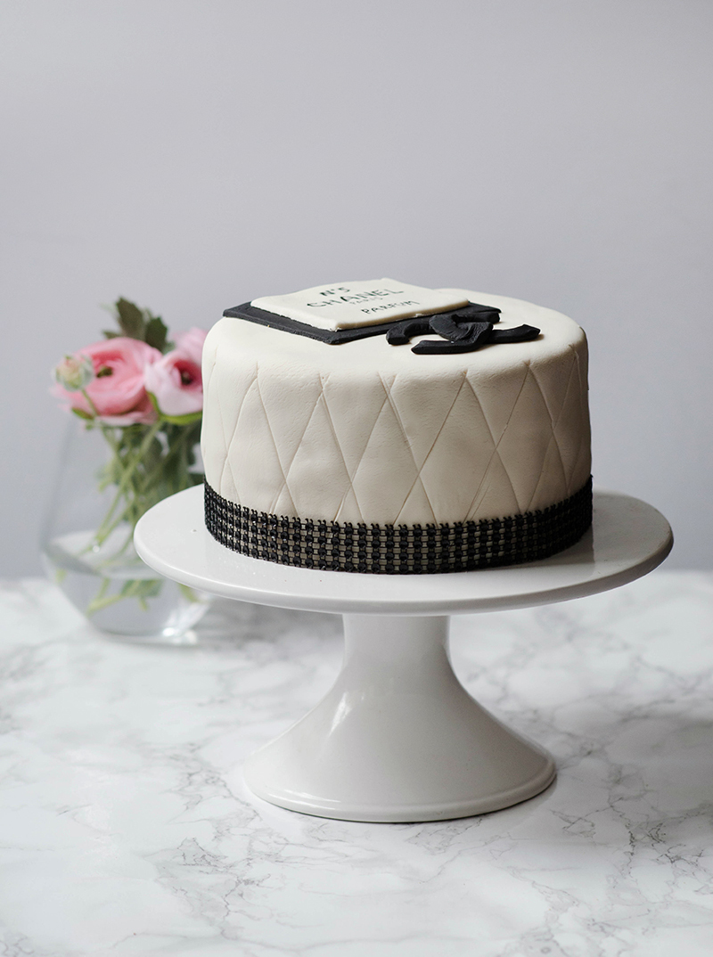 Coco Chanel Cake Obsessive Cooking Disorder