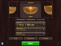 Insight Timer Main Screen