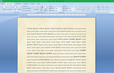 Cara Membuat Background Gambar Tranparan di MS Word 25