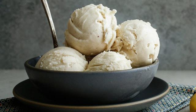 recipe for making banana ice cream