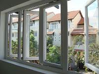 cửa sổ 4 cánh mở quay