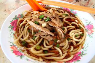 wisata kuliner Melaka - duck noodle