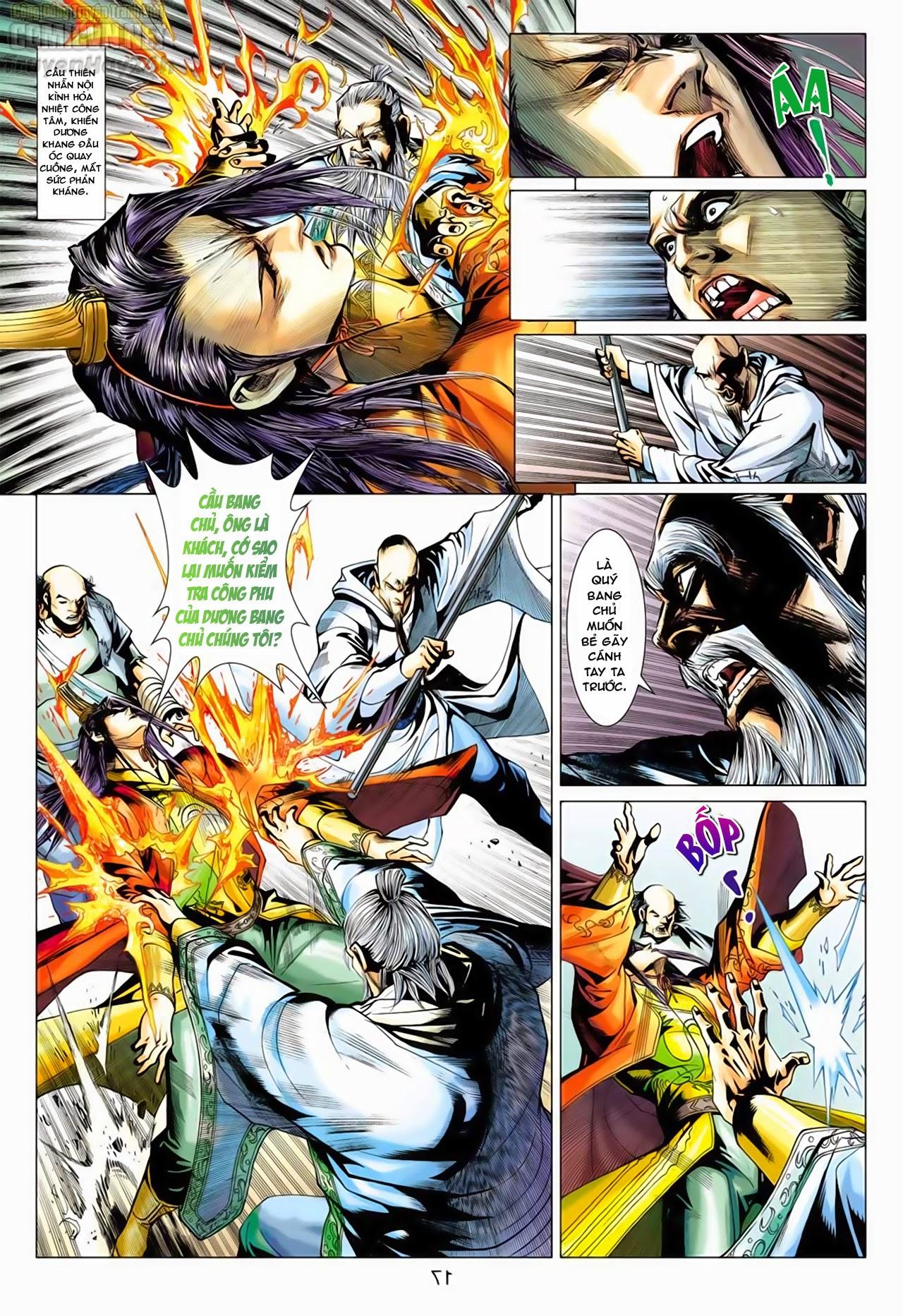 Anh Hùng Xạ Điêu anh hùng xạ đêu chap 66: nhạc châu đại hội trang 17
