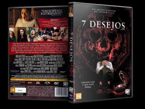 Capa DVD 7 Desejos