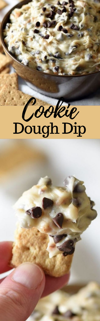 COOKIE DOUGH DIP #cookie #cakes
