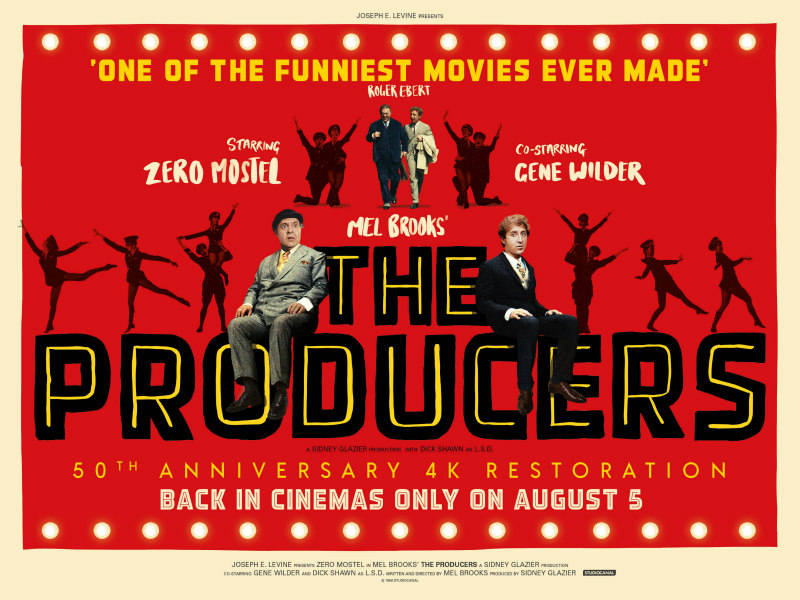 the producers 50th anniversary poster