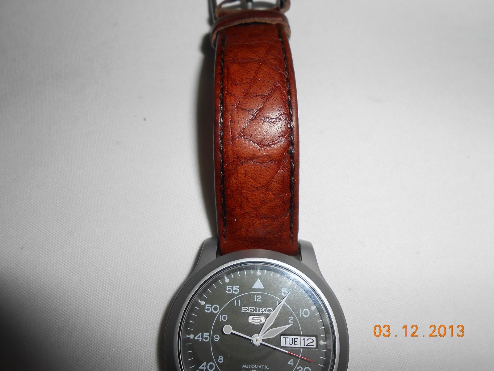 Leather Watch Strap Shoe Polish