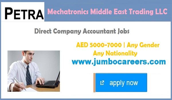 UAE Accountant jobs latest, accountant jobs in Gulf countries,