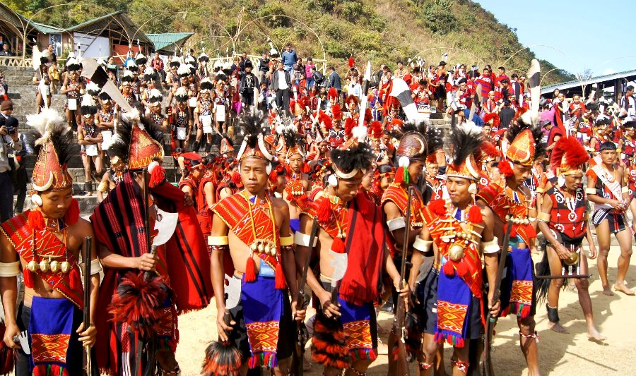 Hornbill Festival, Kisama, Nagaland - Sudeepta Barua photography (© EF News International)