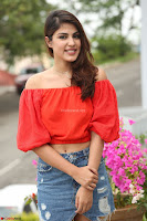 Rhea Chakraborty in Red Crop Top and Denim Shorts Spicy Pics ~  Exclusive 099.JPG