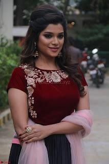 Actress Aathmika in lovely Maraoon Choli ¬  Exclusive Celebrities galleries 035.jpg