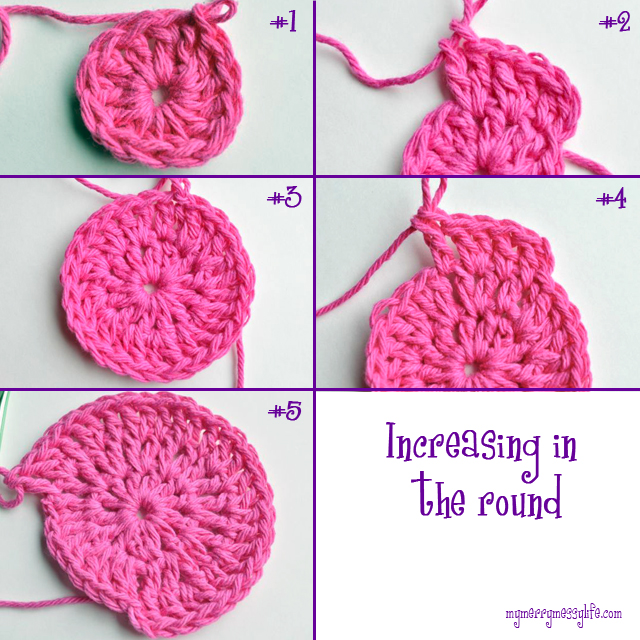 Crochet For Beginners - How to Increase in the Round to Make Circles for Hats, Doilies, Bags and More!