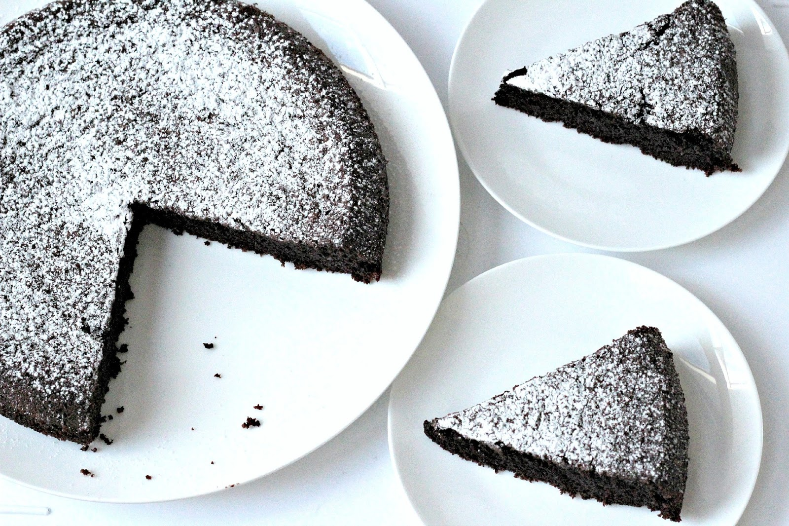 Nigellissima Chocolate Olive Oil Cake