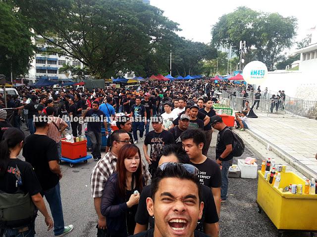 Kuala Lumpur Metallica Live Concert