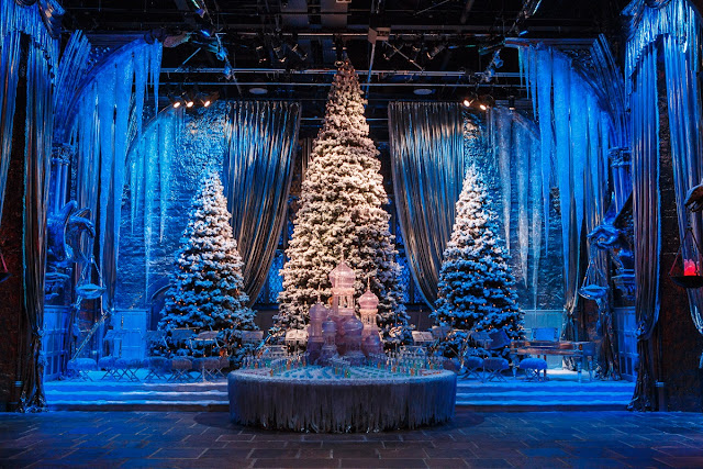 harry potter studio tour christmas uk