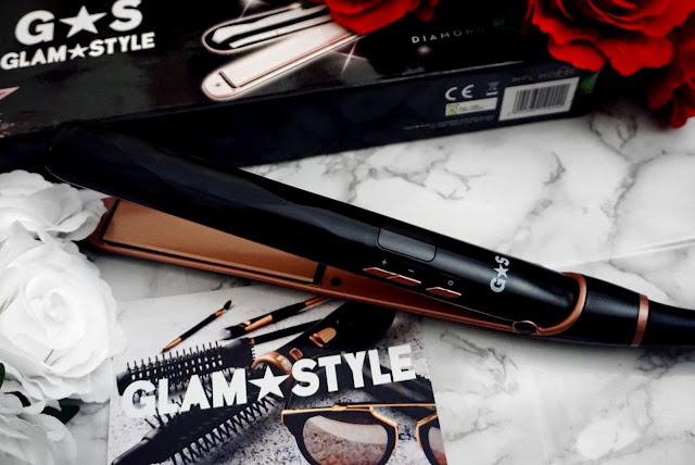 The Diamond Irons Hair Straightner by Glam & Style