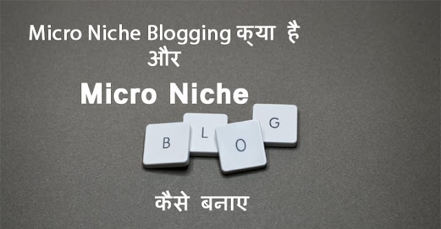 micro niche blogging kya hai, micro niche blogging in hindi, how to create micro niche blog in hindi, micro niche blogging se paise kaise kamaye