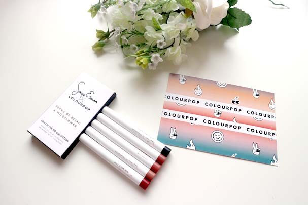 Colourpop x Sonya Esman Mini Stix to go | The Beauty is a Beast