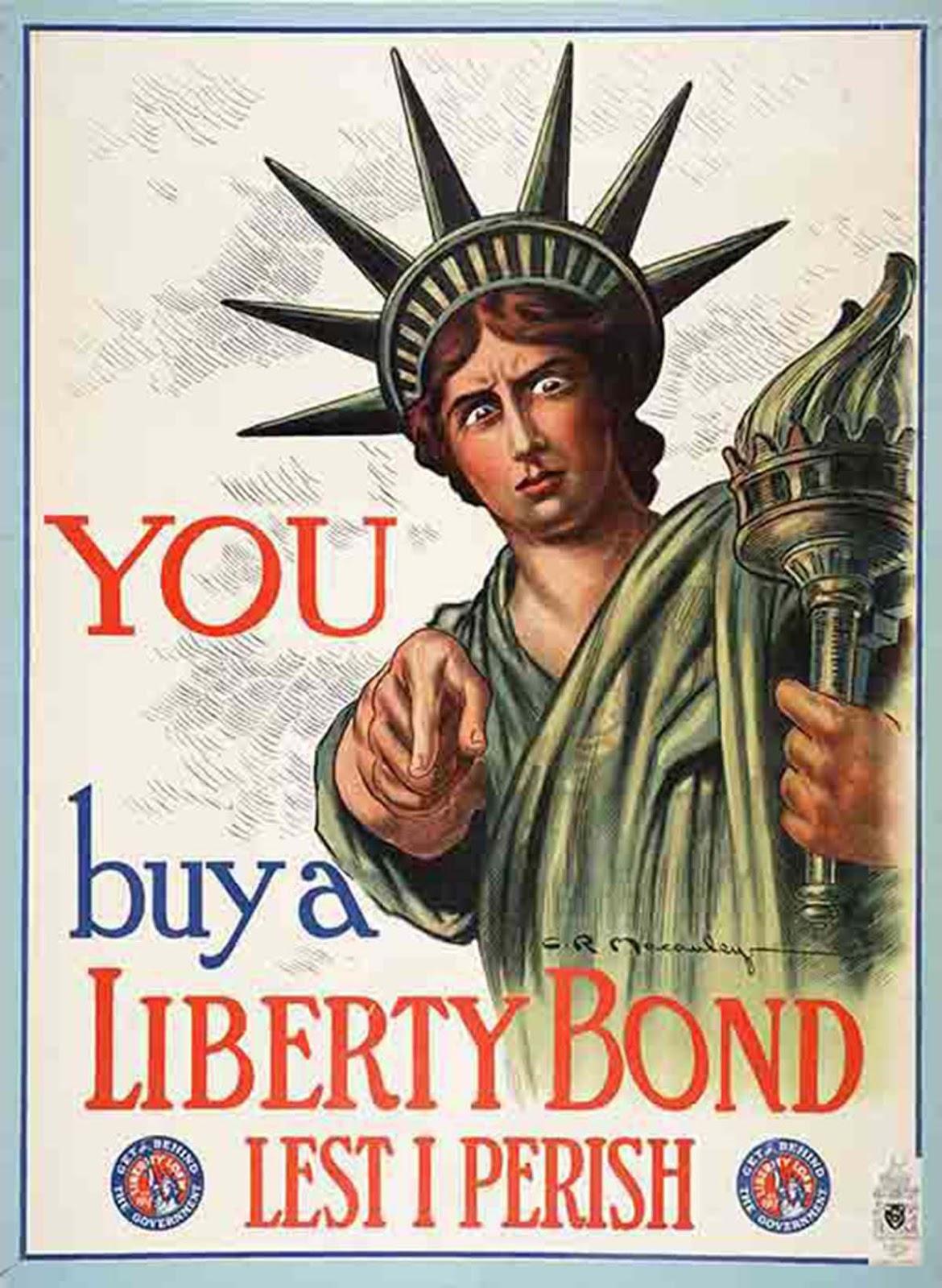 You / Buy a Liberty Bond Lest I Perish, 1917, Charles Raymond Macauley.