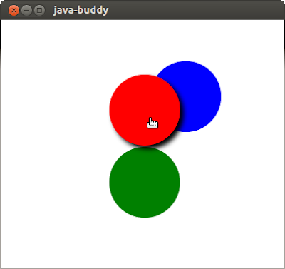 JavaFX example: apply Shadow effect