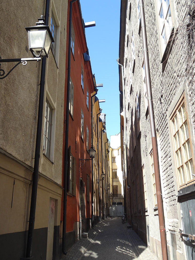 Narrow street in Gamlastan