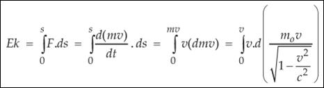 Catatan Hubungan Antara Massa Dan Energi Relativitas