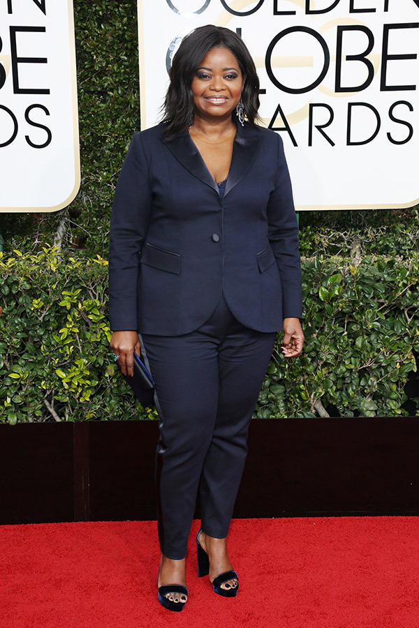 octavia spencer golden globes 2017