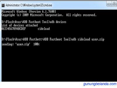 Download ADB Fastboot Tool Asus Semua Tipe