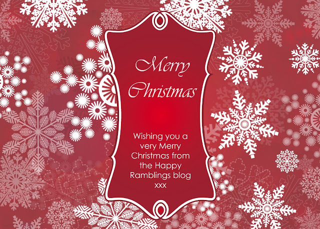 Wishing you a very Merry Christmas from the Happy Ramblings blog