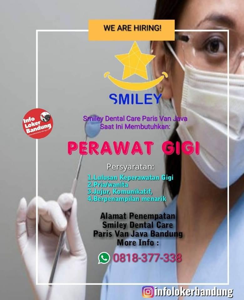 Lowongan Kerja Perawat Gigi Smiley Dental Care Paris Van Java Bandung April 2019